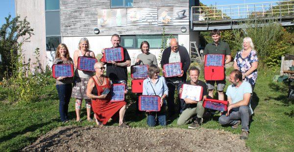 Solar workshop finish panels