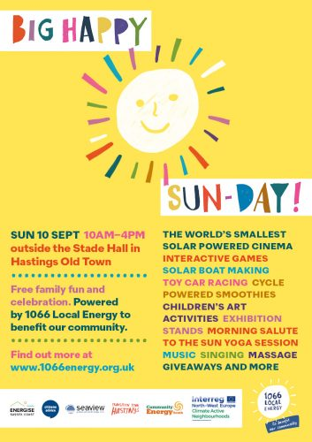 Big Happy Sun-day family event @ Stade Open Space, Rock a Nore Road | United Kingdom