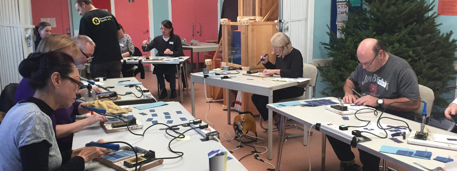 DIY Solar Charger Workshop